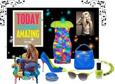 """""""Today is Going to be Amazing!"""" by melody-renfro-goldsberry on Polyvore"""