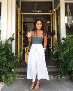 99 Flawless Fitness Outfits Ideas For 2019 - Summer Outfits Vintage Summer Outfits, Casual Fall Outfits, Spring Outfits, Trendy Outfits, Summer Dresses, Summer Holiday Outfits, Summer Fashions, Simple Dresses, Summer Clothes