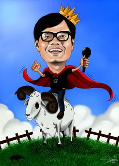 illustrate your photo into caricature style by satriagantia
