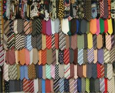 ties... lots of ties... some good ties, and lots of bad ties. A couple Awesome ties!!