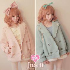 もこもこ羊毛混☆ビッグカラーコート【全3色】| Autumn Collection | Bobon21(ボボンニジュウイチ)