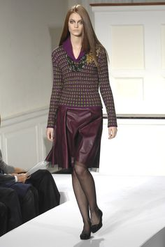 Oscar de la Renta at New York Fashion Week Fall 2008 - Runway Photos