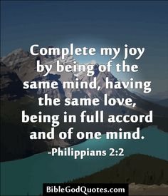 Philippians 2:2 Bible Scriptures, Bible Quotes, Scripture Verses, Kindness Scripture, New Testament Books, Scripture Of The Day, Worship The Lord, Same Love, Bible Truth