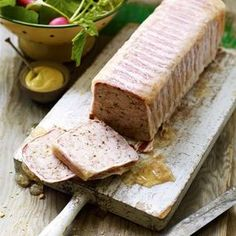This rabbit and bacon terrine recipe is great either as a starter or for lunch served with a dressed green salad and French bread.