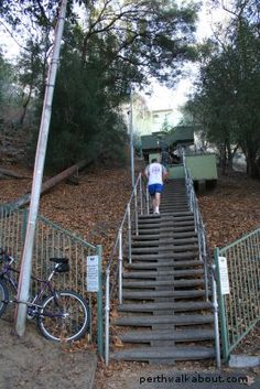 Jacob's Ladder @ Kings Park, Perth...not for the faint hearted!