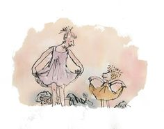 Quentin Blake From The Series Ordinary Life In Vincent Square Lep