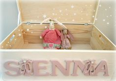 Child's Personalised Toy Box