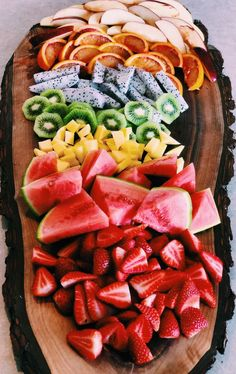 Awesome Fruit Bowl | #1stInHealth #HealthyEating #Diet #Gourmet #Delicious