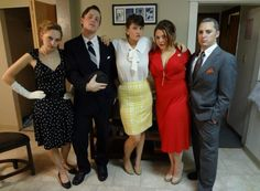 Group Halloween Costume cast of  Mad Men (Betty Don Peggy  sc 1 st  Pinterest & 29 best Halloween costumes images on Pinterest | Carnivals Costume ...