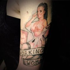 Working Woman Tattoo