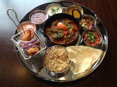 Thali from the Ashoka, Glasgow - Restaurants - 5pm.co.uk