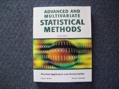 Designed for a second-degree statistics course, this textual content shows students easy methods to interpret, current, and write up the results for every statistical technique. College students additionally discover ways to compute them using SPSS software (also known as PASW Statistics). Covers advanced statistics without overemphasizing superior math. New to the Fourth Version: All screenshots have been updated to Model 16.zero of the software. Also new: A whole topic index.