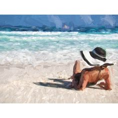 Shore Canvas Wall Art - T&W Art Collection - T&W Art Collection