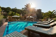 Vacation rentals villa in Cefalu, Sicily with a large swimming pool and sleeps up to 16 people with a nice sea view and a wide terrace. Sicily, Terrace, Swimming Pools, Vacation, Nice, Holiday Rentals, Outdoor Decor, Villas, Italia