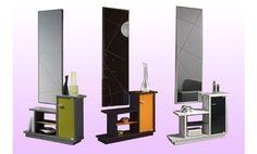 Recibidor con espejo, en un estilo moderno.Disponible en varios colores.