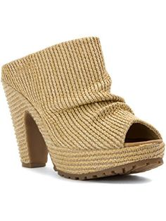 4e69c992a3173 Blowfish Women s Vello Natural Romans Straw Sandal 8 M ❤ Blowfish On Shoes