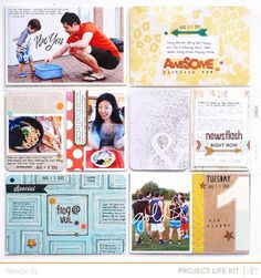 Project Life August (2) by qingmei at @Studio_Calico Double Scoop