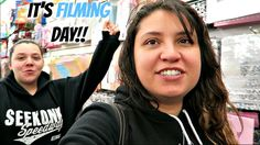 Filming Another Challenge Collab | Vlog with Keepin' It Relle