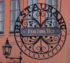 Gamla Stan à Stockhom – Vieille Ville de la capitale suédoise