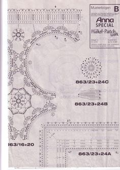 Burda Special Patchwork Croché - Barbara H. - Álbuns da web do Picasa