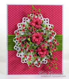 KC Elizabeth Craft Bunch of Flowers 1 center 4-7-14 Kittie Kraft