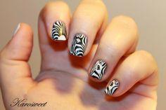 Nailstorming #59 Noir et blanc...
