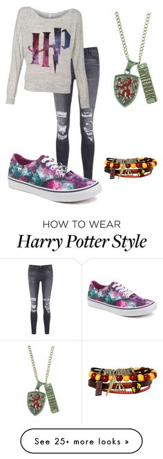 """Emeline"" by fireflylight234 on Polyvore featuring J Brand and Vans"