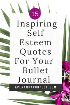 Self esteem quotes help to inspire you to go into your day focused on your strengths rather than weaknesses. Adding meaningful self esteem quotes to your bullet journal ensures you will see the quotes at least once per day increasing self worth and confid Bullet Journal Layout, Bullet Journal Inspiration, Bullet Journals, Journal Prompts, Writing Prompts, Journal Ideas, Bujo, Self Esteem Quotes, Understanding Yourself