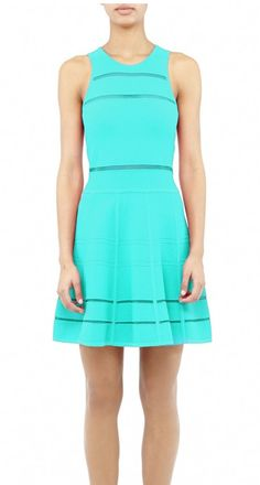 Nicole Miller teal dress - LOVE