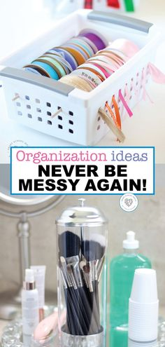 Everyone loves a neat and organized house. Look at these helpful ideas and hacks to help your house be beautiful and organized. These organization tips will help you to never have a messy house again. #organizationtips #neat #organizedhouse #tips #cheap #diy #smartschoolhouse