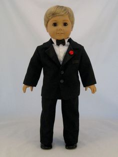 Hey, I found this really awesome Etsy listing at https://www.etsy.com/listing/183612225/american-girl-sized-tuxedo-custom-made