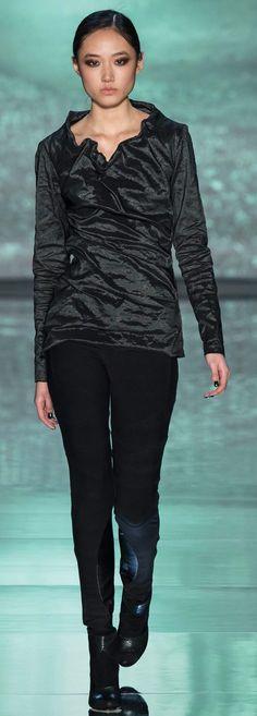 Nicole Miller, fall 2015 Ready-to-Wear