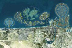 Een impressie van The Universe en de ligging ten opzichte van de andere eilanden.