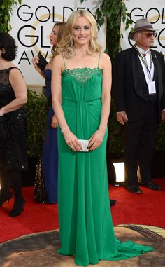 all the choices you must have had and you chose this?! boo. maybe next year! Taylor Schilling from 2014 Golden Globes: Red Carpet Arrivals | E! Online