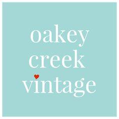 Fabulous Vintage Treasures by OakeyCreekVintage Etsy Seller, Retro, Creative, Pride, Community, Vintage, Business, Unique, Poster