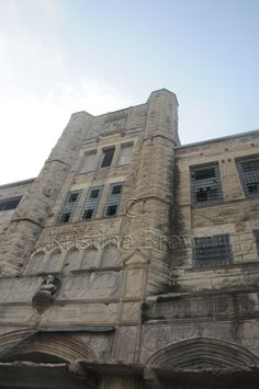 Old Abandoned Jail Photo Missouri State Penitentiary Prison Photography Architecture Photo by SilverBirdBoutique on Etsy