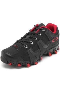 b358fef3bc9e4 Tênis Oakley Hammer - Cinza+Vermelho   man k. em 2019   Hype shoes ...