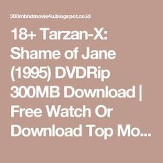 Tarzan x shame of jane 1995