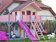 Summertime Project – Build a Playhouse for Your Kids Build A Playhouse, Playhouse Outdoor, Wooden Playhouse, Playhouse Ideas, Cubby Houses, Play Houses, Summer Activities For Kids, Summer Kids, Building Plans