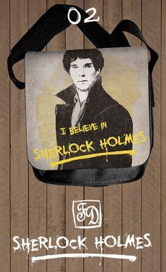 I believe in Sherlock Holmes shoulder bag.