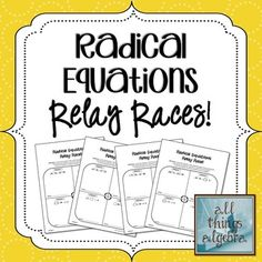 Worksheets Radical Equation Review Worksheet Match Up ideas tables and equation on pinterest this is a great way for students to work together practice solving radical equations