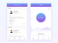 Here is some of screen from my new Employee Directory App project. See the full preview here: https://www.behance.net/gallery/37291343/UpDirrector-mobile-app-Landing-Page