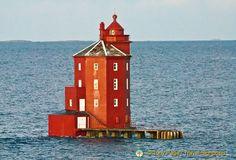 Kjeungskjær Lighthouse, Norway, Hurtigruten Norwergian Coastal Voyage