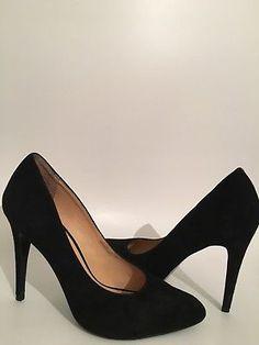 1bdb3d92728c Jones Bootmaker womens Black Suede High Heels Court Shoe  sucess  reseller   fashion