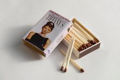 VHS Tape Matchbox Breakfast at Tiffanys with Audrey by girvey, $6.00 Match Boxes, Breakfast At Tiffanys, Vhs Tapes, Audrey Hepburn, Tins, Sunday, Miniatures, Shower, Amazing