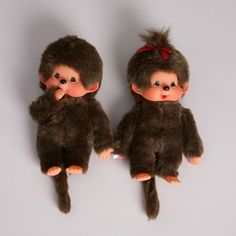Monchichi Dolls -- I almost forgot about these little guys!