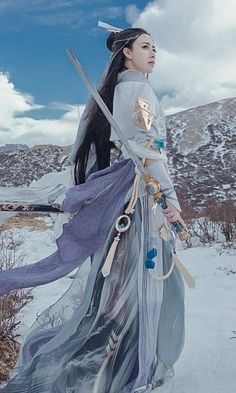 China Cosplay The post China Cosplay appeared first on Pin Store. Fantasy Inspiration, Character Inspiration, Character Art, Character Design, Hanfu, Cosplay, Female Samurai, Martial Artists, Art Poses