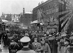 Berlin 1937 Weihnachtsmarkt im Berliner Lustgarten