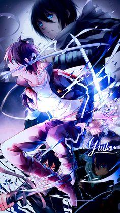 Yato wallpaper by Yui-Yuiko-Noragami – About Anime Noragami Anime, Noragami Bishamon, Noragami Cosplay, Manga Anime, Gato Anime, Anime Demon, Anime Expo, Anime Kiss, Anime Art