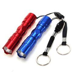 Elfeland 3W Portable Mini LED Flashlight Keychain